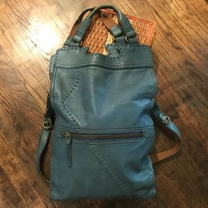 Lucky Brand Abbey Road Leather Crossbody